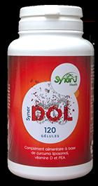 Dites STOP à la douleur avec SynerDOL, l'analgésique 100% naturel, non médicamenteux, non toxique et sans effet secondaire du laboratoire SynerJ-Health de Jacques Prunier, créateur du SynerStem, SynerBoost et pionnier de l'algue bleu-vert de Klamath AlphaOne.